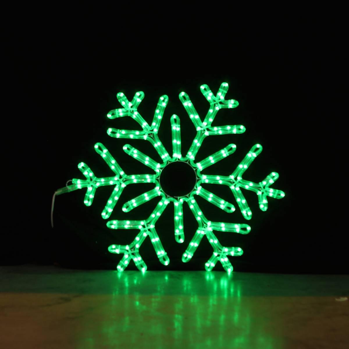 Snøfnugg 70x70 cm m/fjernkontroll og smart-LED